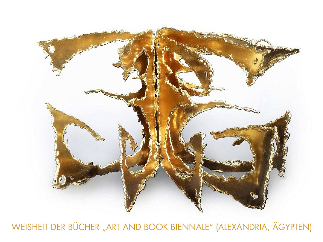 WEISHEIT DER BÜCHER 'ART AND BOOK BIENNALE'
